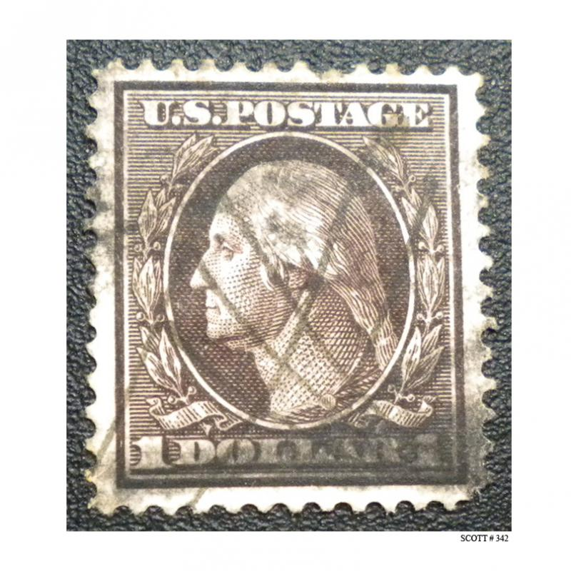 UNITED STATES STAMP. 1908 - 09. SCOTT # 342. USED.