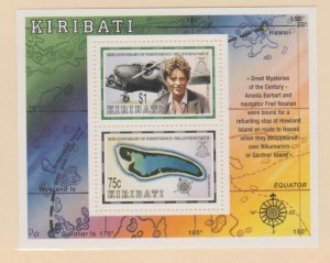 Kiribati Scott #745a Stamp - Mint NH Souvenir Sheet