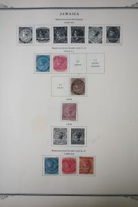 Jamaica 1800's to 1970's Stamp Collection