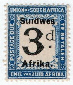 (I.B) South-West Africa Postal : Postage Due 3d