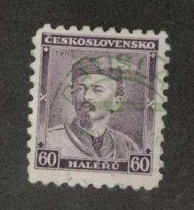 CZECHOSLOVAKIA Scott 191 Used