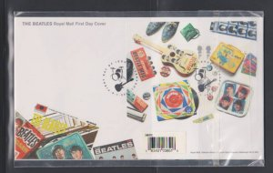Official The Beatles Royal Mail MINT First Day Cover /Presentation Pa , LOT#503
