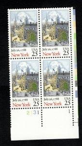 PB 2346 Bicentenary Statehood: New York MNH