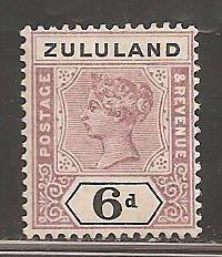 Zululand  SC 19  Mint, Lightly  Hinged