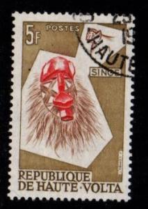 Upper Volta - #77 Monkey Mask - Used