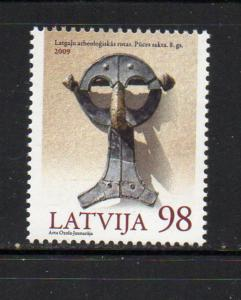 Latvia Sc 729 2009 8th Century Brooch stamp mint NH