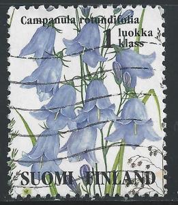 Finland #941c 1 multi Wildflowers - Campanula Routundifolia