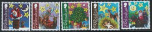 Gibraltar Scott 1168-1172 MNH! Complete Set! Christmas 2008!