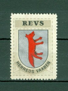 Denmark. Poster Stamp 1940/42. Mnh. District: Revs. Coats Of Arms: Red Fox.