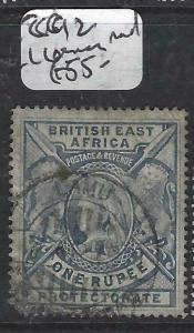 BRITISH EAST AFRICA  (P3105B)  QV  1R  SG 92  LL CORNER ROUNDED  VFU