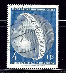 Chile C254 Used 1964 issue