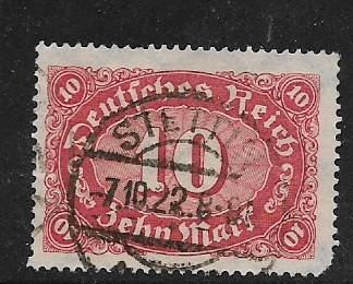 Germany Sc. # 195 Used Inflation wmk 126 L6