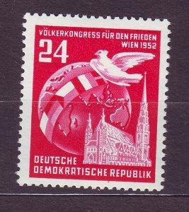 J23567 JLstamps 1952 germany DDR part of set mnh #118 dove