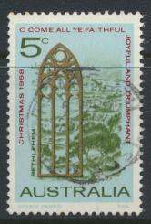 Australia  Sc# 445  Christmas 1968  Used