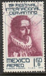 MEXICO C460 3rd International Cervantes Festival. Used  VF. (567)