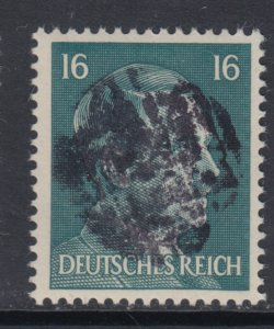 Germany Soviet Zone SBZ - LOCAL DEHLES 16Pf HITLER head - Expertized Valicek