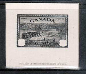 Canada #270DP Extra Fine Progressive Die Proof Without Value Tablets