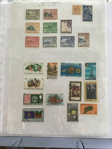 St Christopher and St Kitts stamp page R23466