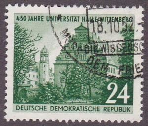 Germany DDR # 111, Halle University, Used, 1/2 Cat