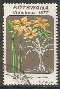 BOTSWANA, 1977, used 3t, Lilies Scott 193