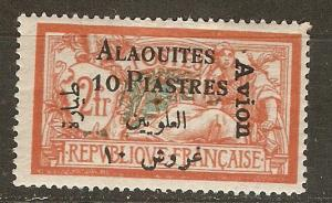 Alaouites C4 Y&T PA 4 MH VF 1925 SCV $17.50