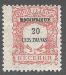 Mozambique Scott J42 MH*  stamp