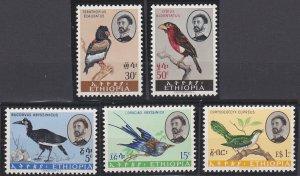 Ethiopia 386-390 MNH (1962)