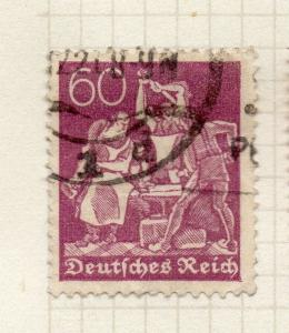 Germany 1921 (Lozenge Wmk.) Early Issue Fine Used 60pf. 299579