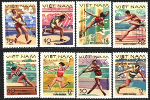 Vietnam. 1978. 961-68. Athletics, Sports. MNH.