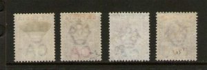 St Lucia 1903 KEVII SG 58-60 or Sc 43-46 MH