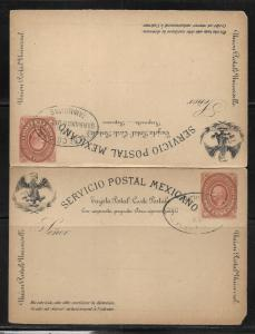 Mexico Postal Stationery Postcard H&G #14