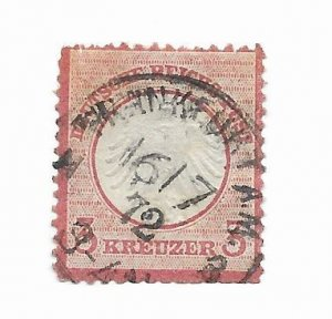 Germany #9 Used - Stamp - CAT VALUE $12.50
