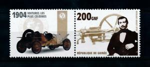 [100223] Guinea 2002 Classic Cars 1904 Minerva Minervette  MNH
