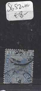 MALAYA SELANGOR  (P0509B)  TIGER   5C  SG 52   VFU