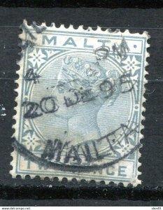 Malta 1885 Sc 10 Used  11450