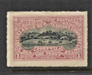 STAMP STATION PERTH New Hebrides # Local Inter Island Stamp MVLH