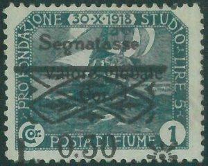 87862b - ITALIA: FIUME  - VARIETA'  Error  - REVENUE Sassone ST 31  Nuovo * MH