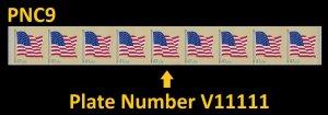 US 4188 Flag 41c PNC9 AVR V11111 MNH 2007
