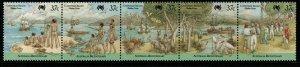CHRISTMAS ISLAND SG246a 1988 BICENTENARY OF AUSTRALIAN SETTLEMENT MNH