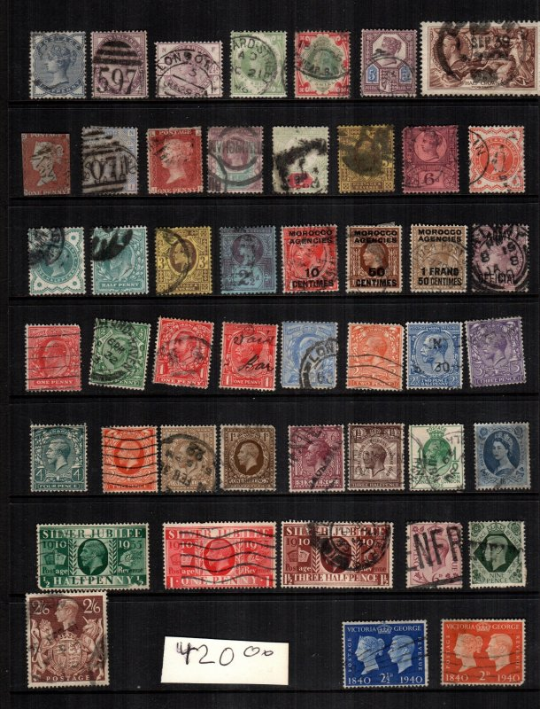 Great Britain  42 diff  used cat $ 420.00