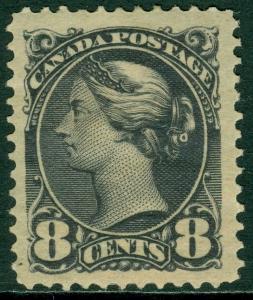 EDW1949SELL : CANADA 1893 Scott #44 XF, Mint OG. Huge stamp. AIEP Certificate.