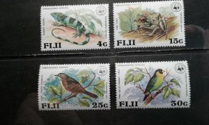 Fiji #397-400 MNH e202 7117