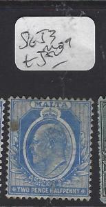 MALTA (P0710B)  KE  2 1/2D  SG 53      MOG