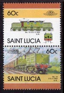 St Lucia 810 MNH VF