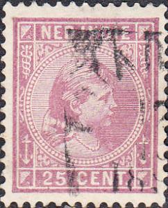 Netherlands Indies #27  Used