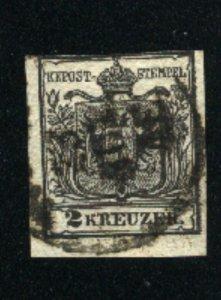 Austria #2   U 1850 PD
