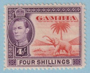 GAMBIA 141  MINT NEVER HINGED OG ** NO FAULTS VERY FINE !