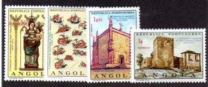 ANGOLA 542-5 MNH SCV $2.35 BIN $1.40 RELIGION