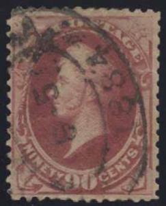 US Scott #191 Used, F