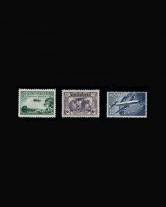 VINTAGE:AUSTRALIA 1929-58 OG NH,LH,NH SCOTT #C1,C2,C8 $25.25 LOT#VSAAUST1928HK-K